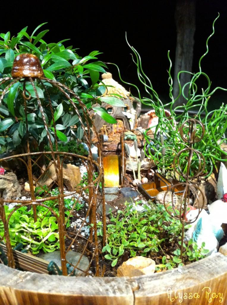 Tinker Bell Fairy Garden