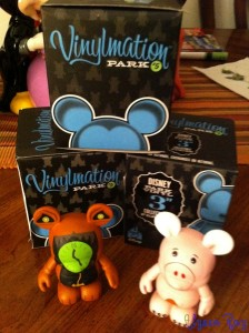 This evening's Vinylmation stash