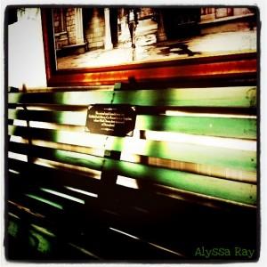 Walt's Bench