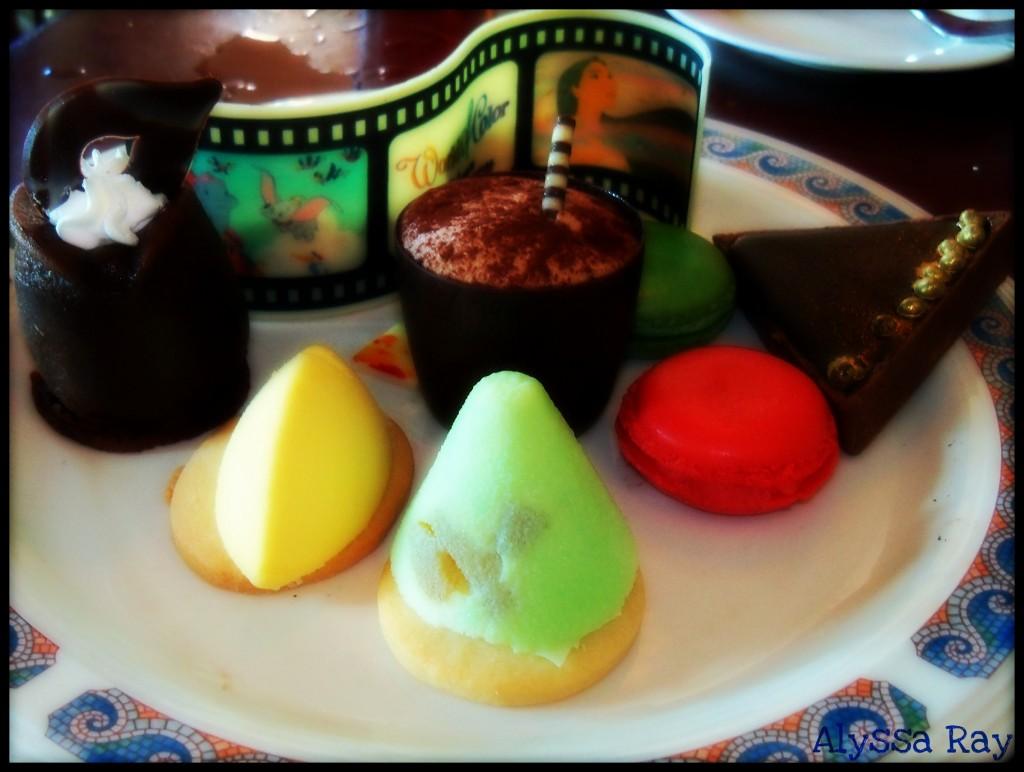 World of Color Desserts
